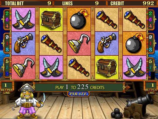 Игровой автомат Pirate играть бесплатно без регистраций