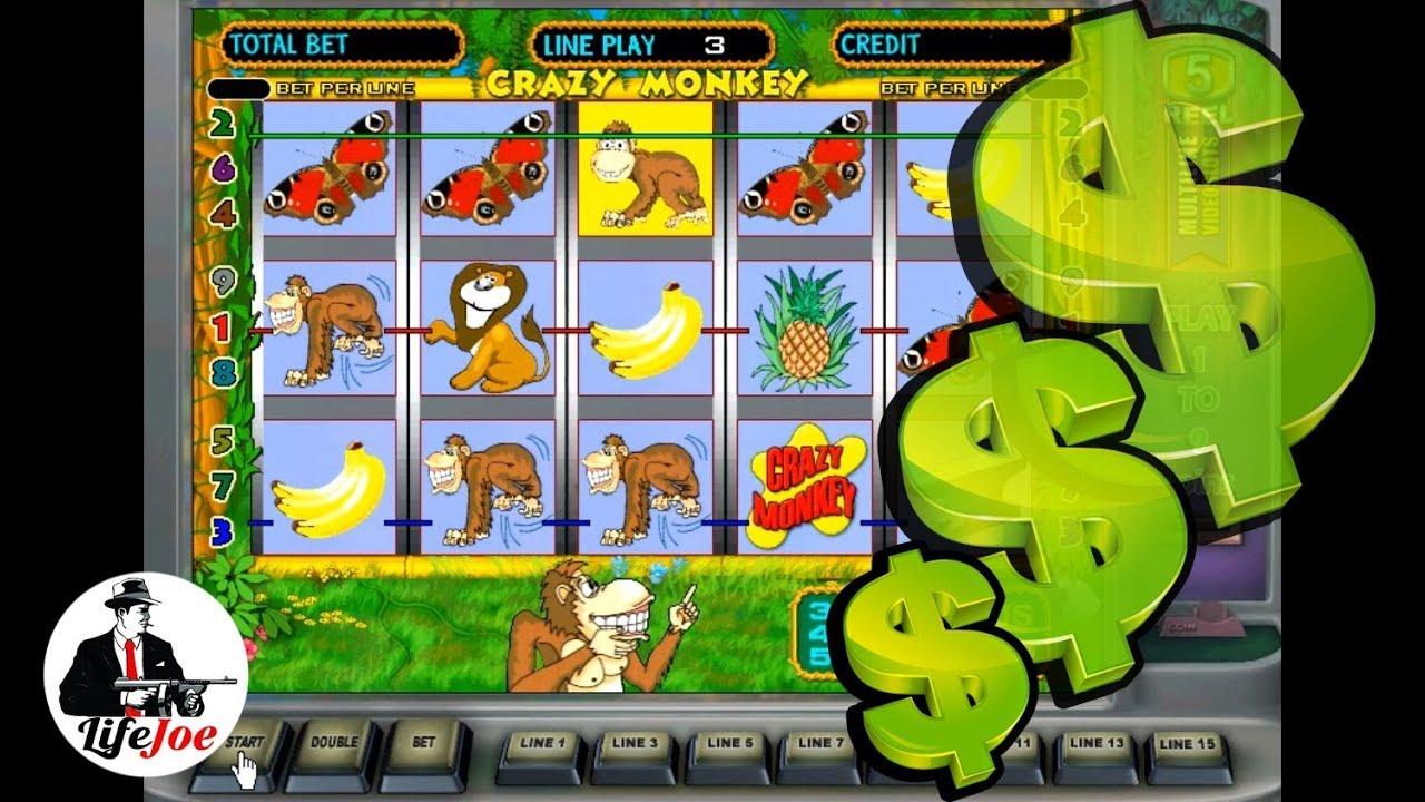 Игровой автомат Crazy Monkey Крейзи Манки - играть онлайн