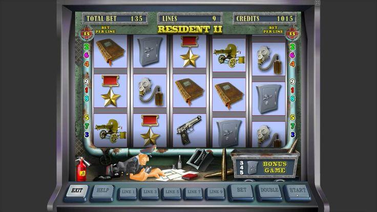 Играть в игровые автоматы бесплатно резидент