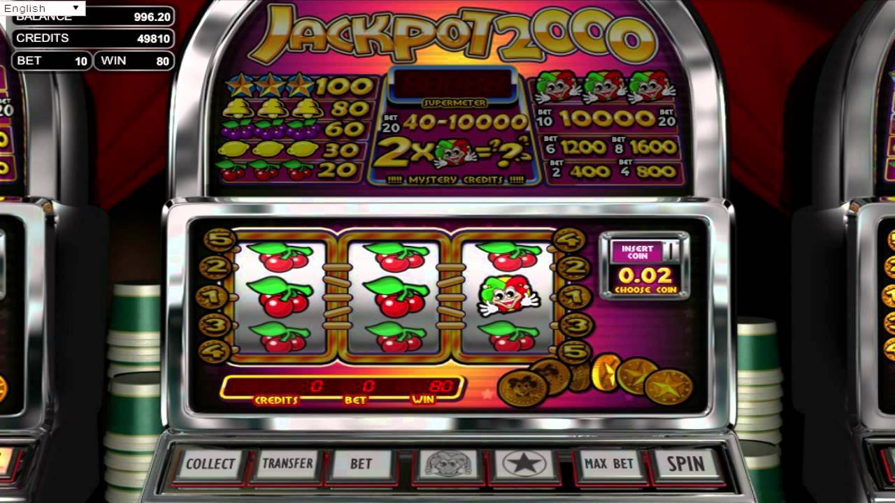 Slot games to play online