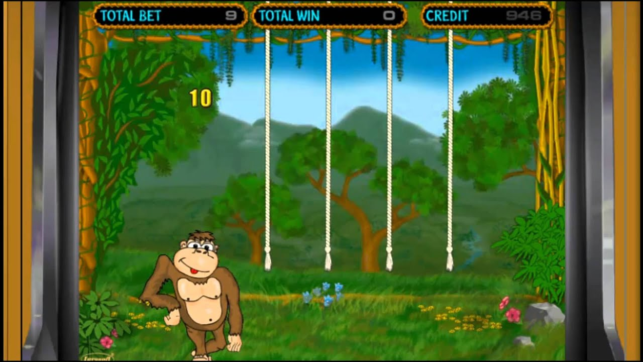 Crazy Monkey Обезьянки игровой автомат играть бесплатно.
