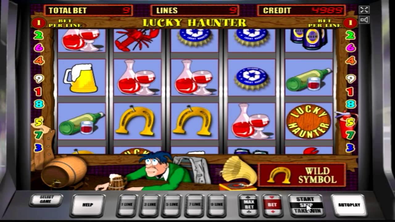 Игровой автомат Lucky Haunter I RUS Пробки, Крышки — играть.